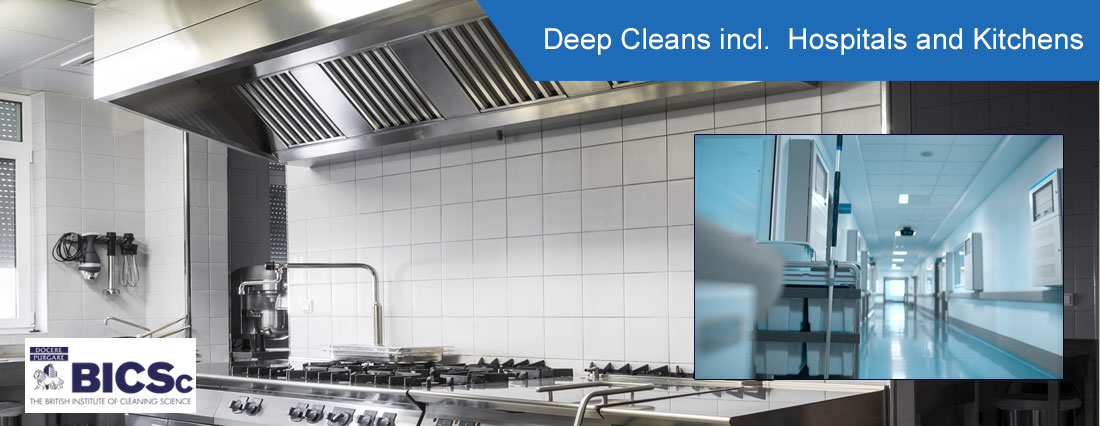 Deep Cleaning - Kitchens & Hospitals - ISO Cleaning Services