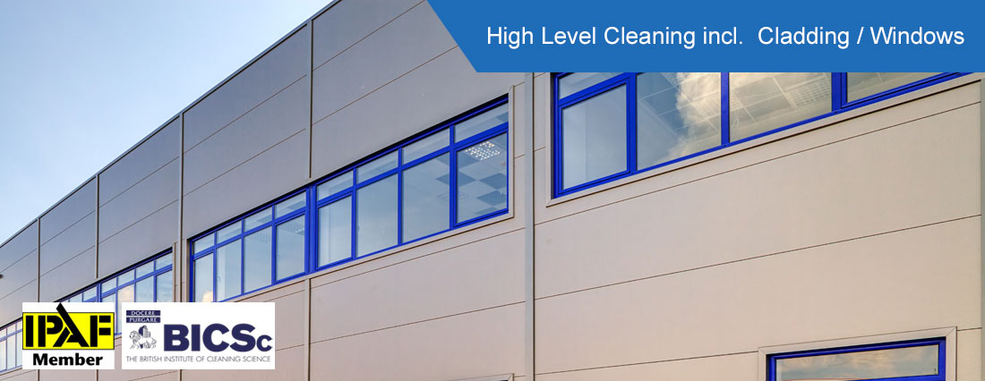 High Level Cleaning - Cladding & Windows