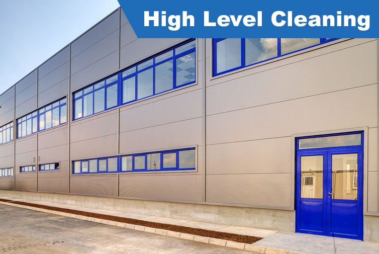 High Level Cleaning - ISO Cleaning Services Ltd