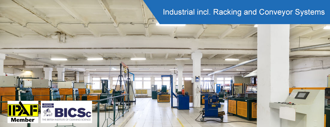 Industrical Racking & Conveyor Systems - ISO Cleaning Services